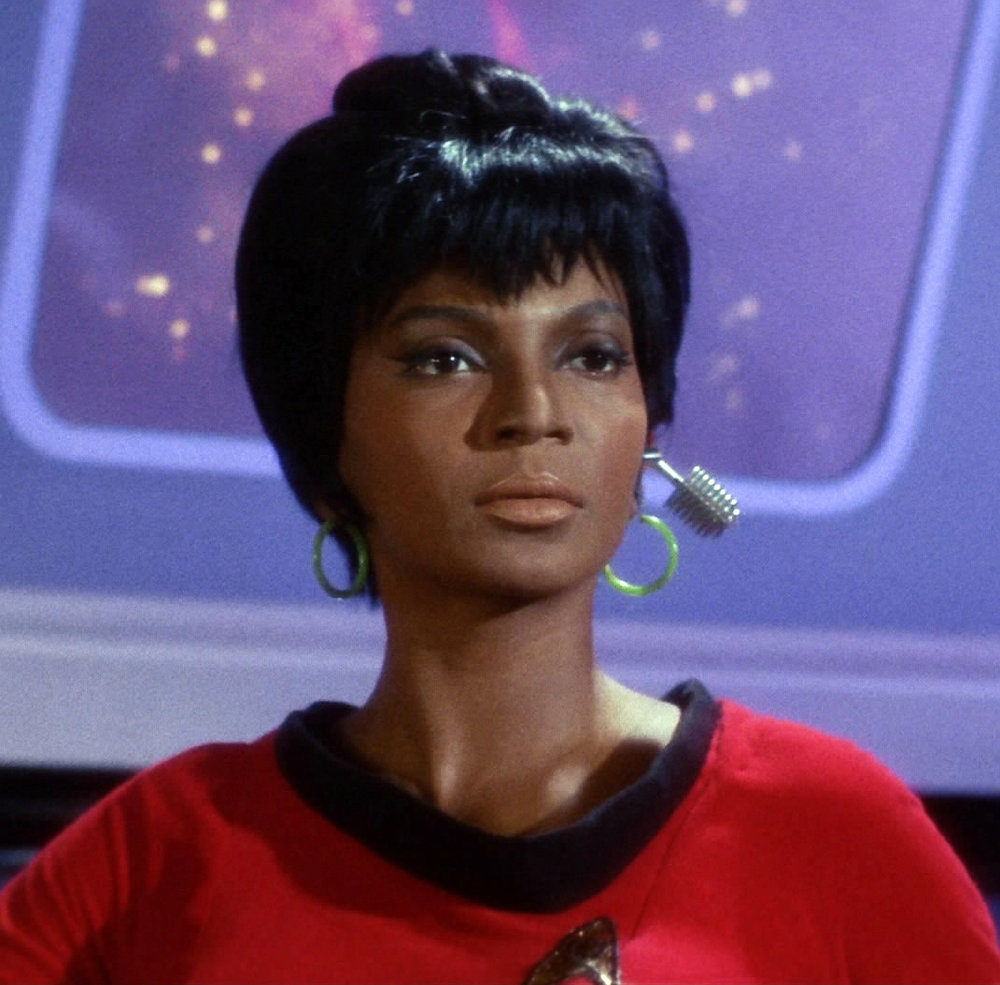 Lieutenant Uhura from Star Trek The Original Series - Paramount/CBS