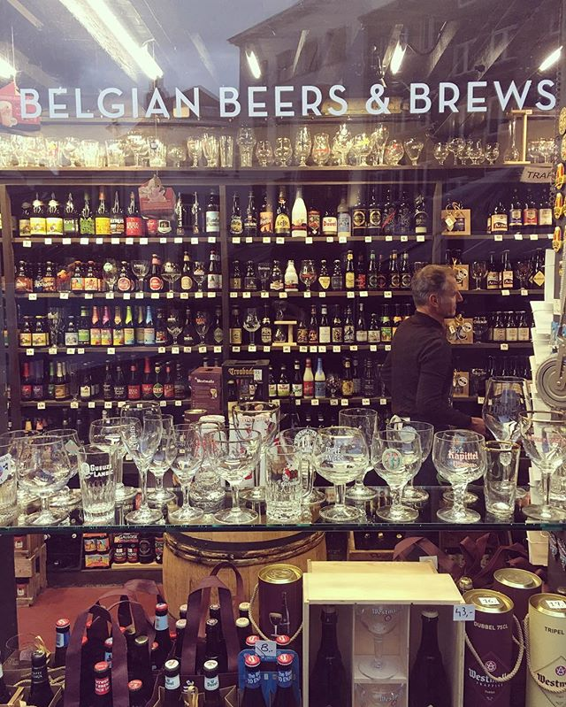 Talk about hard choices!  #antwerp #belgium #belgianbeer #beer #europe #europa