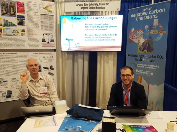 The Center for Negative Carbon Emissions team at the 2016 ARPA-E conference in Washington D.C.