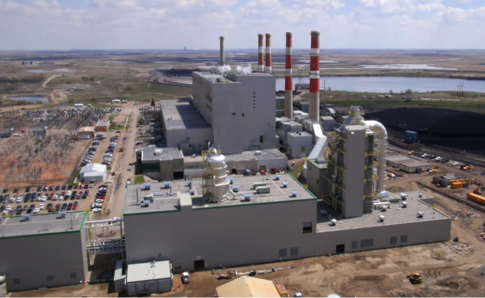 Via: http://www.saskpowerccs.com/tour/ -- what a post-combustion CO2 capture project looks like at a coal power plant – similar CCUS technology can be used at biomass power facilities.