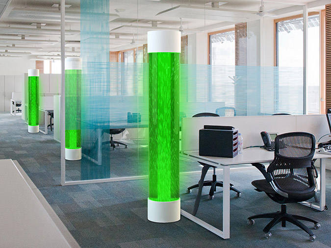 Source: Europa -- artist rendering of a potential algae lamp