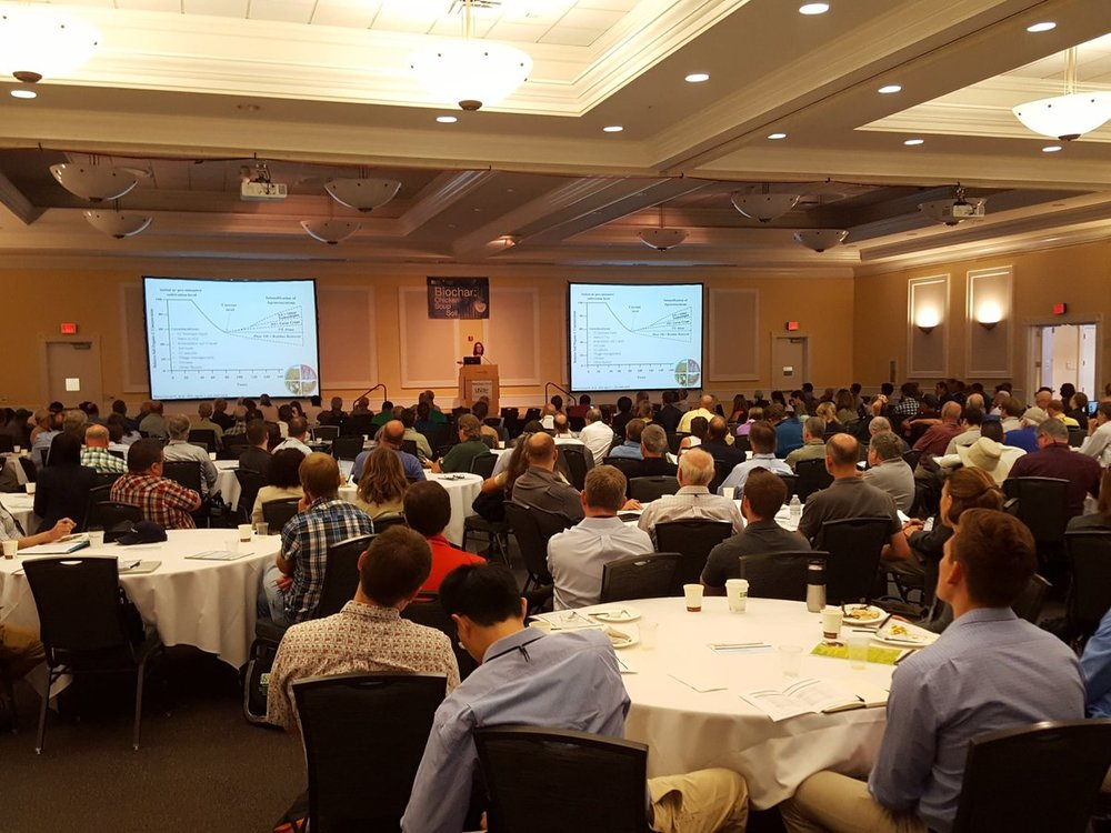 There was a packed house at the 2016 US Biochar Conference... but the conference attracted few attendees from wider industry, finance, government, and NGO circles.