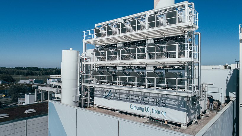 ClimeWorks' direct air capture machine in Switzerland could allow companies to earn up to $50 per ton of CO2, depending on where it is stored after capture.