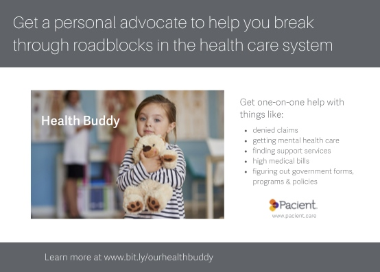 Health Buddy Handout Promotional Card