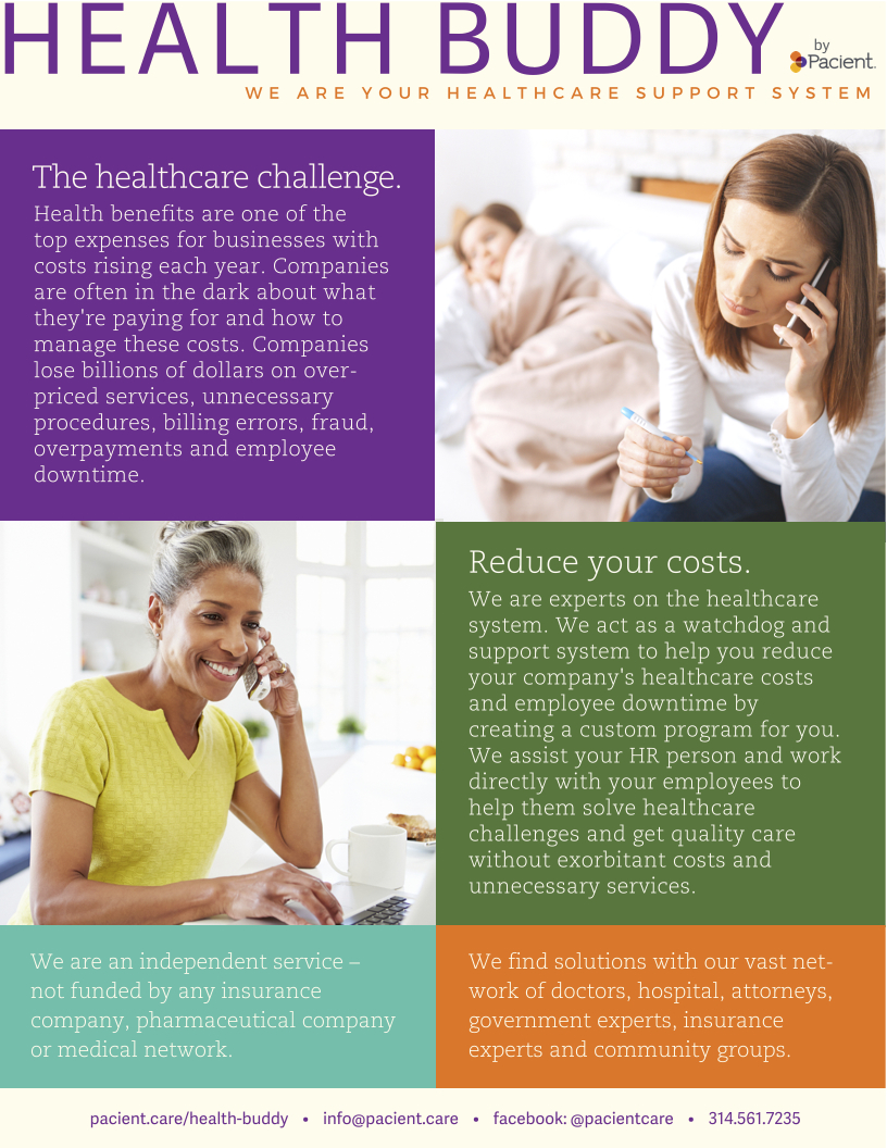 Health Buddy Health Advocate One-Pager
