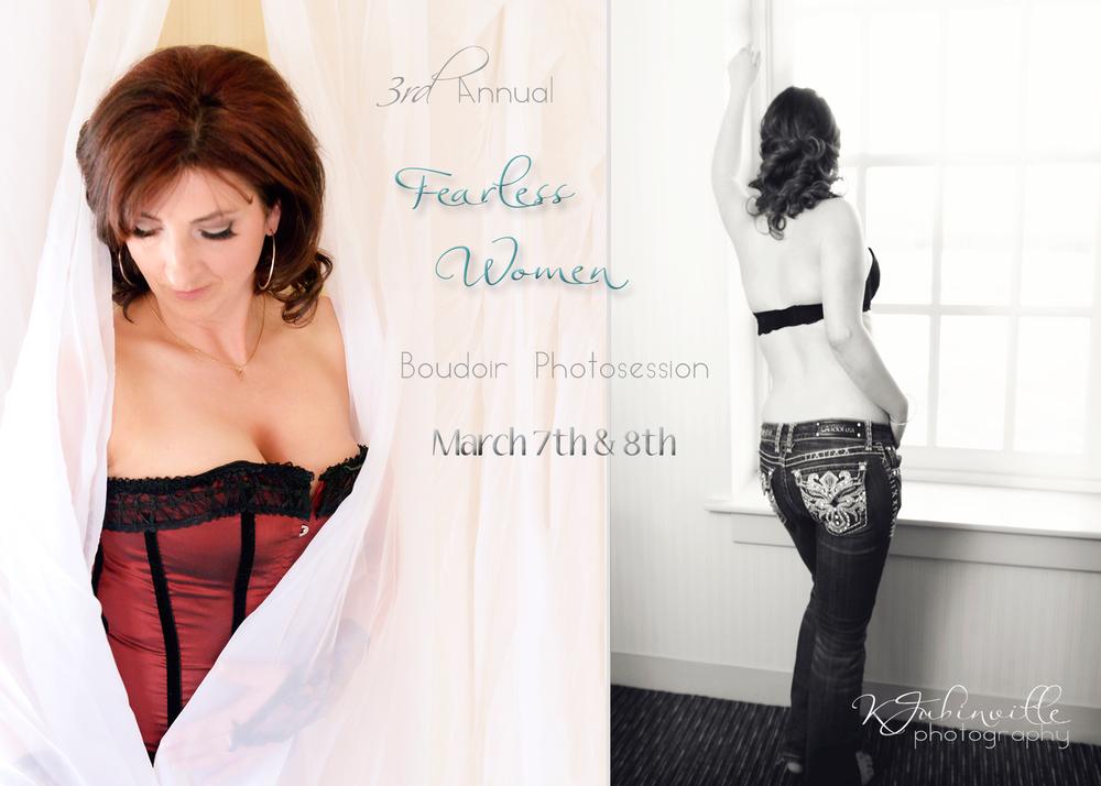 Fearless Woman Boudoir Event