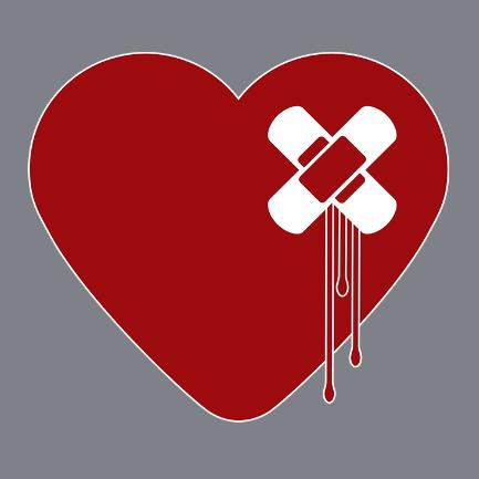 Heart Broken: Cards, Shirts, Phone Cases, Mugs...