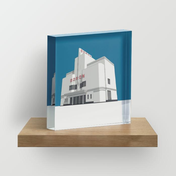 Acrylic Block:4″×4″×1″,6″×6″×1″