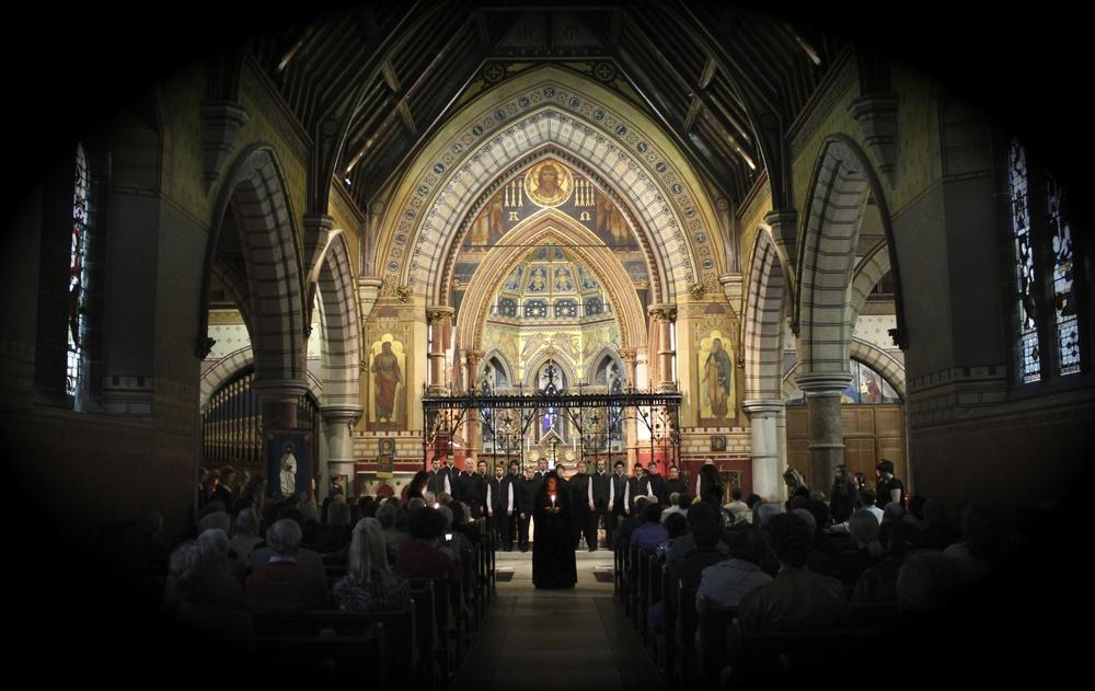 Anúna International Summer School 2013- Performance in St. Bartholomew's Church