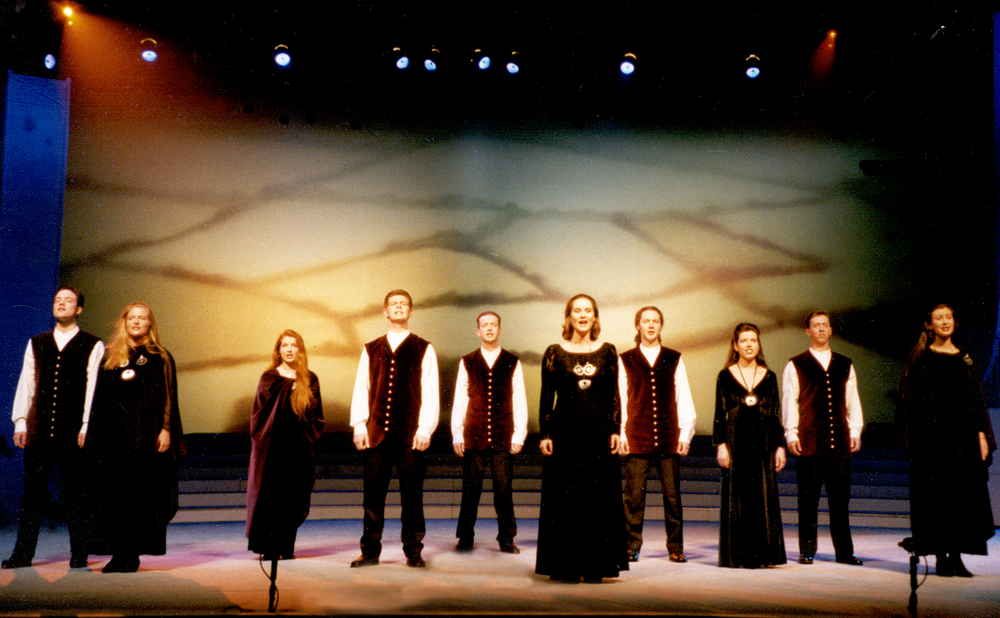 Anúna Performing in Riverdance, 1995. Image Andrew McGlynn