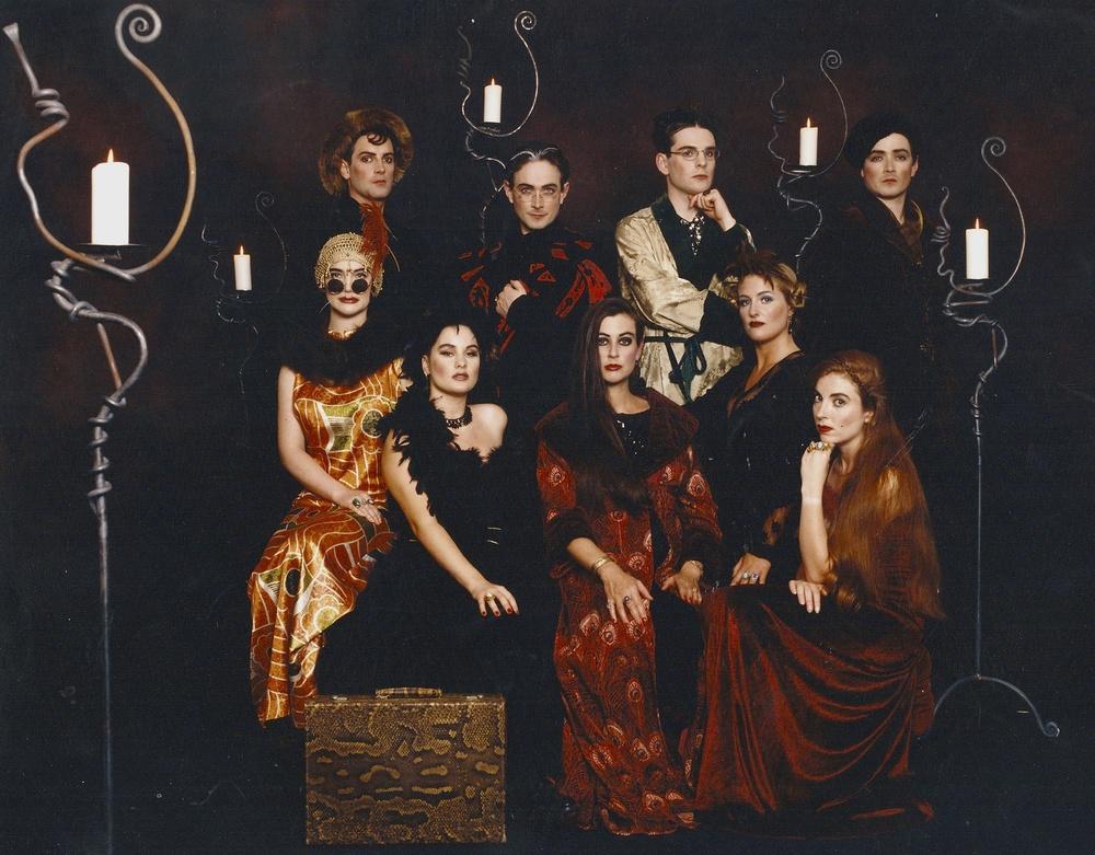 Cover Shoot for the Róisín Dubh Single, 1995. Image Nigel Brand