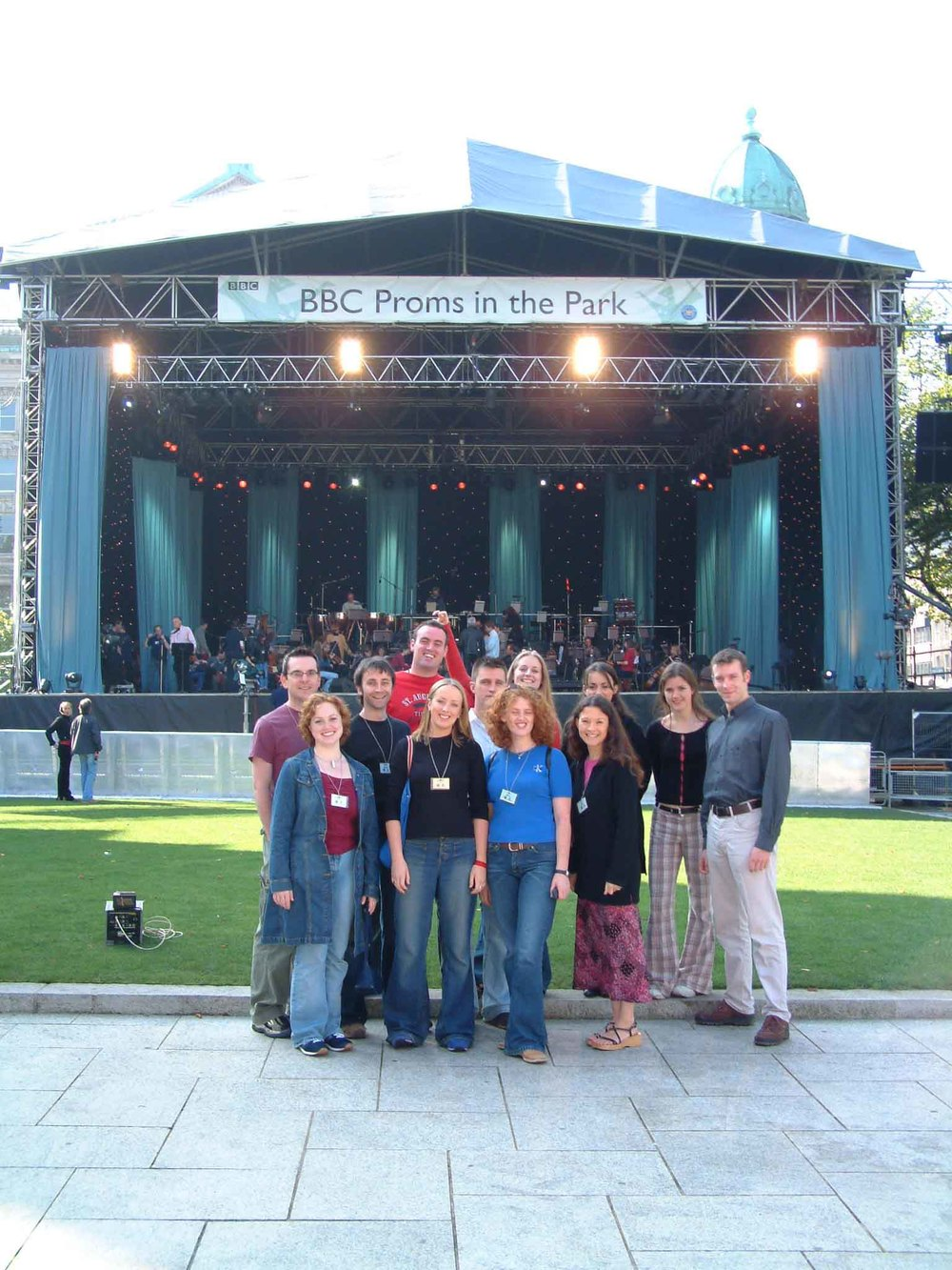 At the BBC Proms in the Park, 2002, Belfast