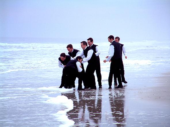 On Jacksonville Beach, March 2003 : Image John McGlynn