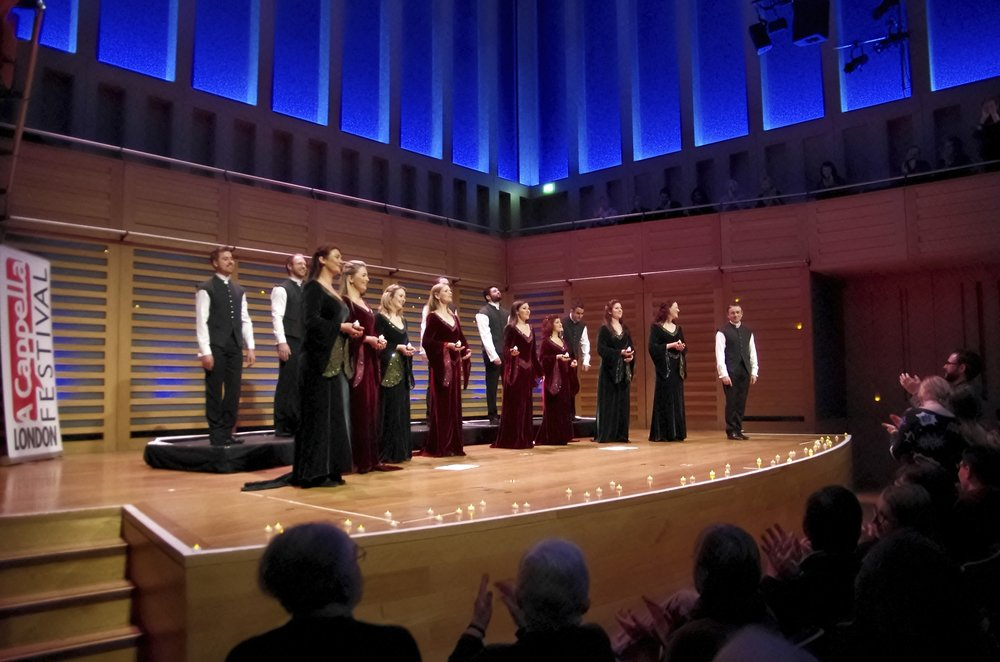 London A Cappella Festival, King's Place, January 2015