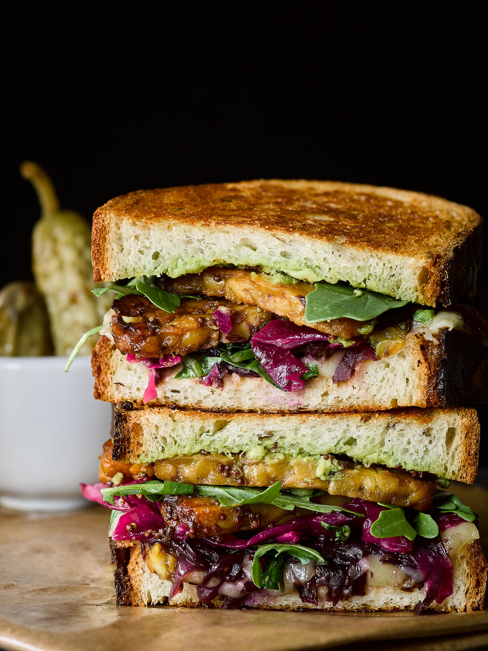 The Ultimate Tempeh Reuben - Traveling Fork