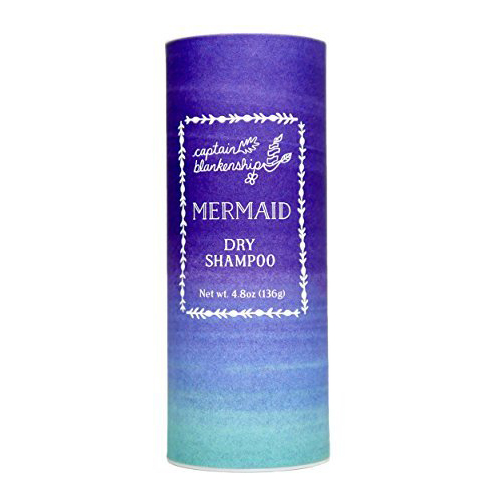 Organic Mermaid Dry Shampoo  Why bother washing daily? Give your hair volume, no itching, no nasty stuff.