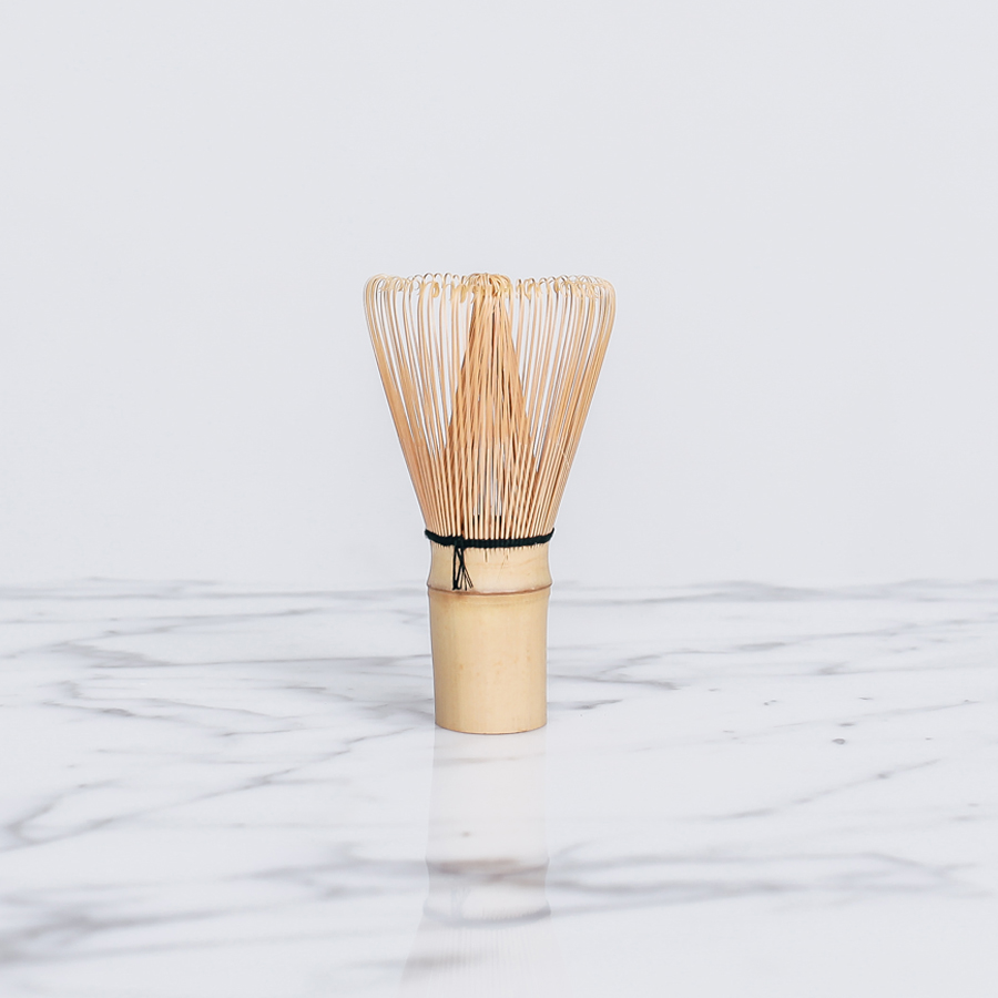 Bamboo Matcha Whisk  For the perfect frothy green matcha lattes, this is a household must-have.
