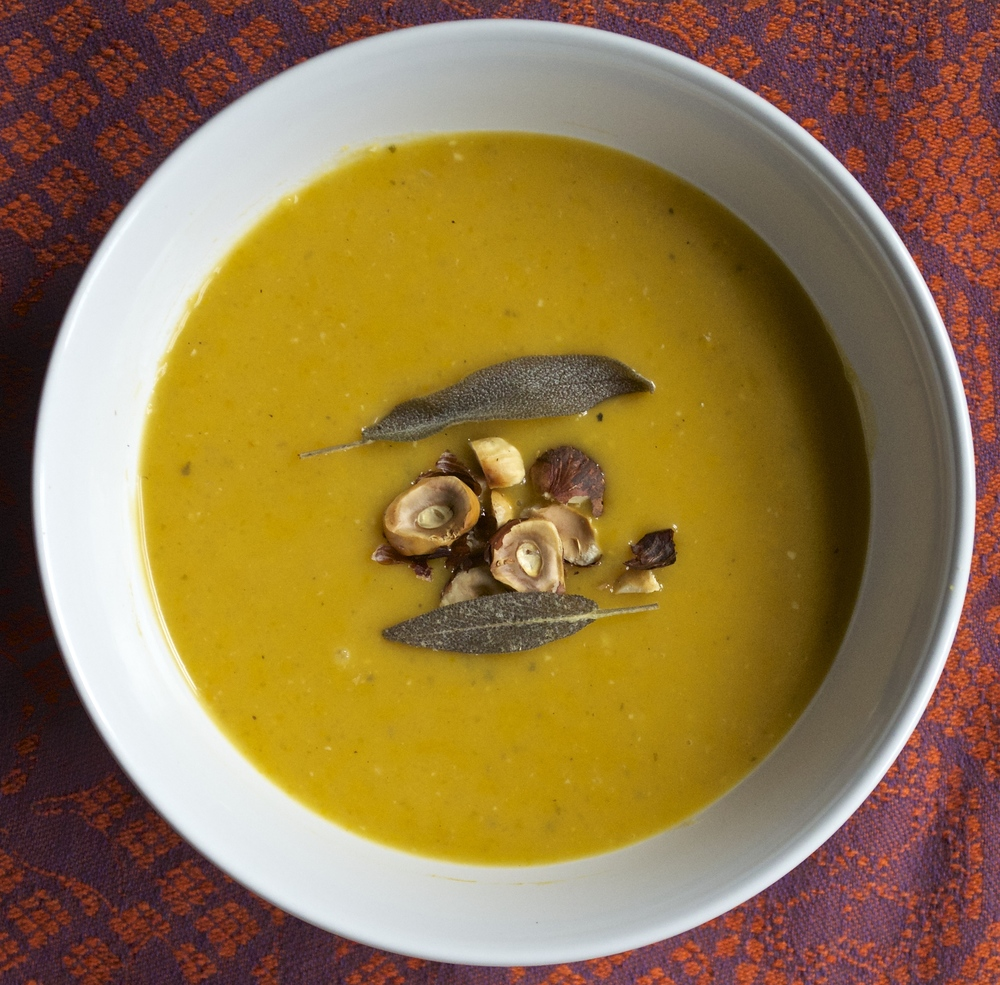 Butternut Squash Soup | Pale Yellow