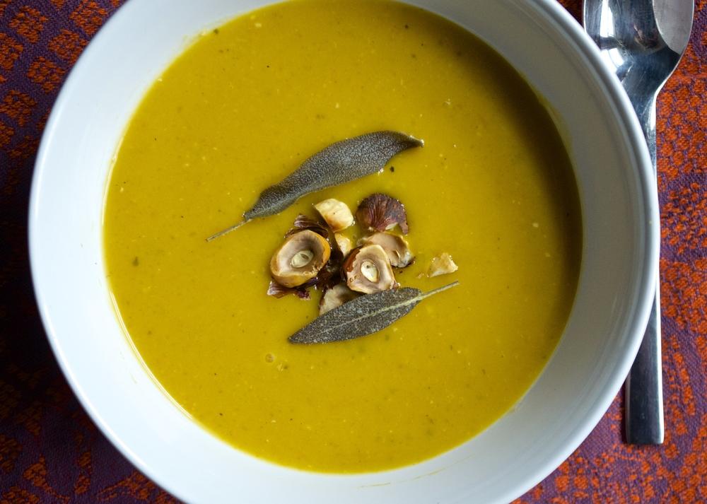 Butternut Squash Soup | Pale Yellow
