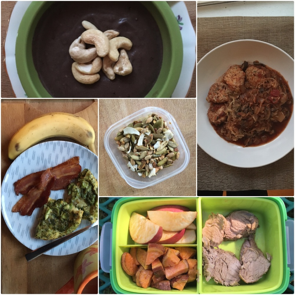 Whole 30 Meal Plan | Pale Yellow