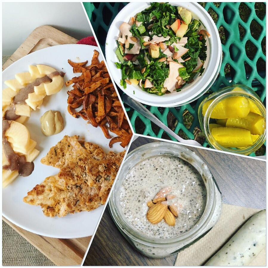 Whole 30 Meal Plane | Pale Yellow