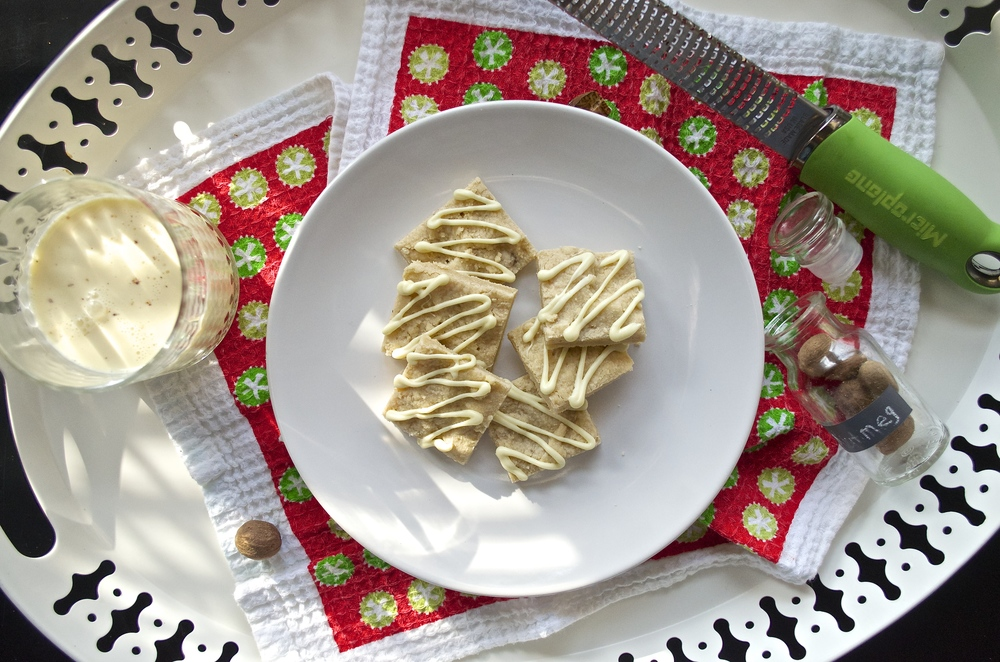 Eggnog Shortbread | Pale Yellow