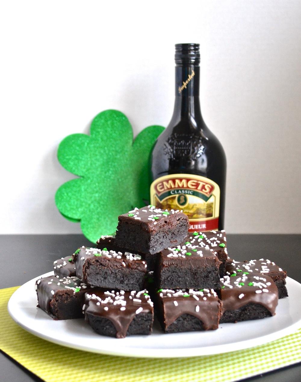 Irish Cream Brownies | Pale Yellow