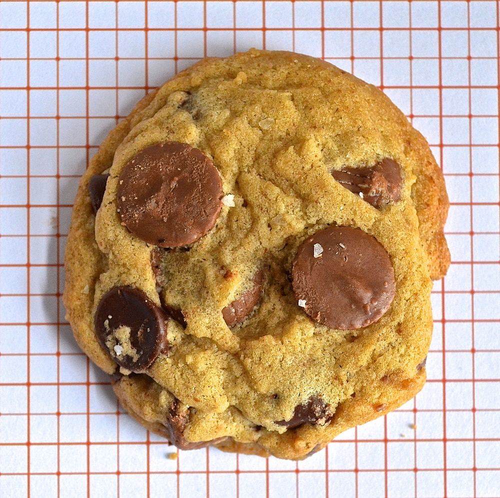 Brown butter peanut butter chocolate chip cookies | Pale Yellow