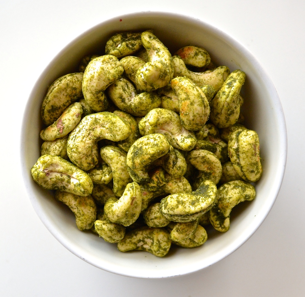 Lime Cashews | Pale Yellow