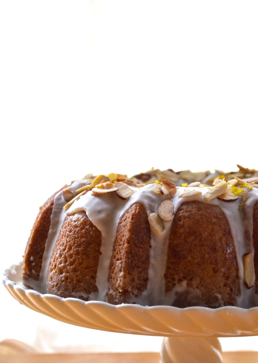 Lemon Almond Bundt Cake | Pale Yello