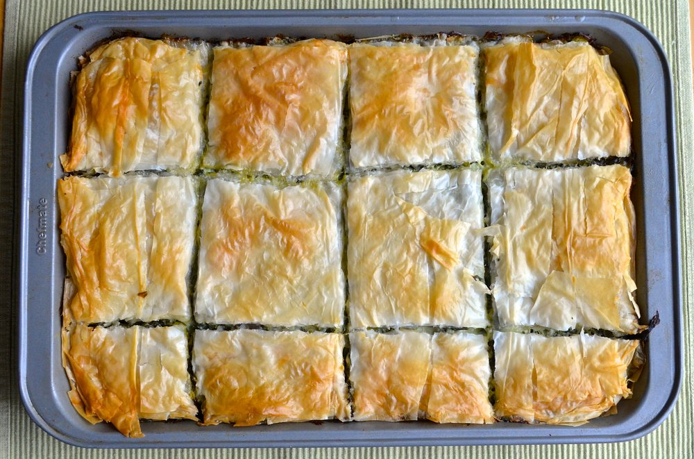 Spanakopita | Pale Yellow
