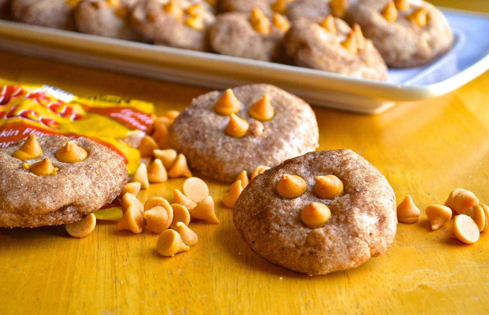 Pumpkin Spice Snickerdoodles   Pale Yellow