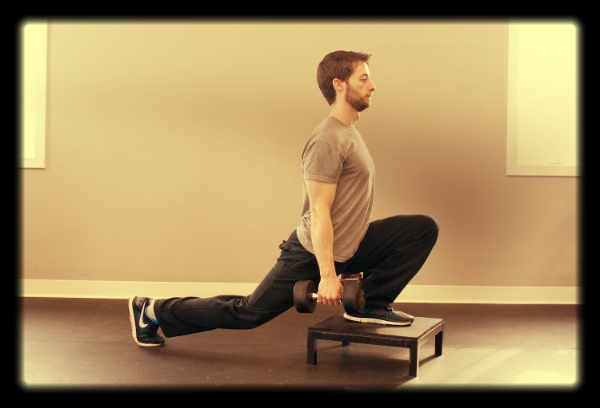 Split squat with front foot elevated (FFE)