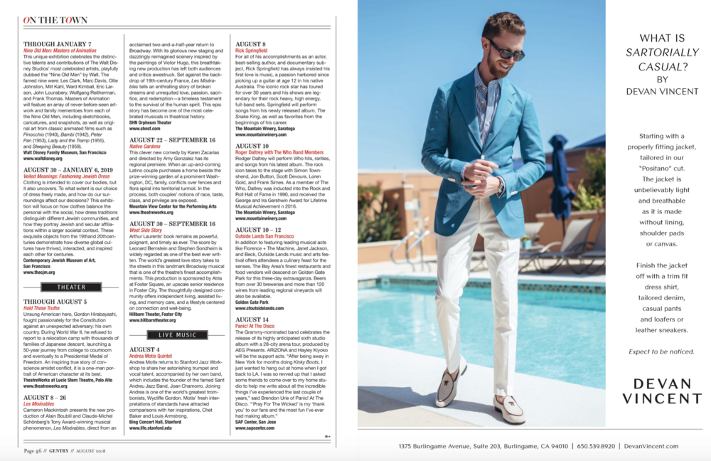 Gentry Magazine August 2018