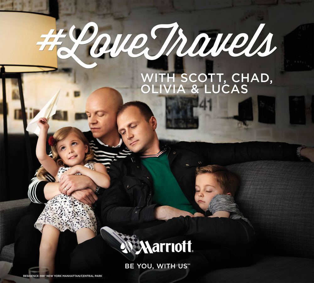 #LoveTravels campaign for Marriott International.