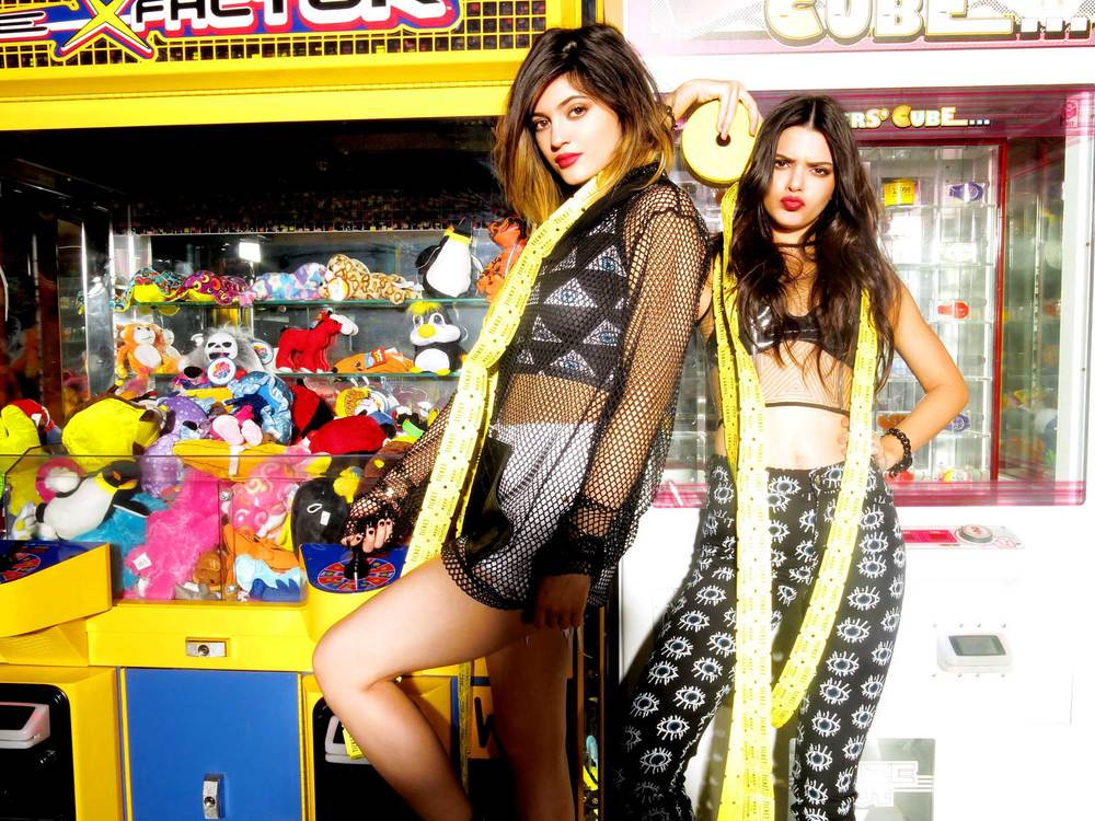 Kylie and Kendall for Steve Madden.