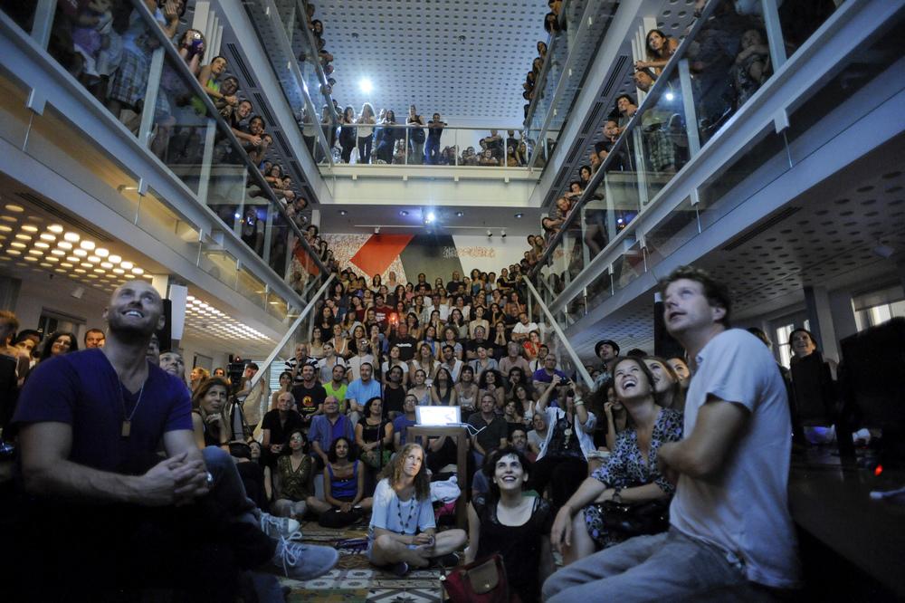 Slideluck, Tel Aviv, 2012