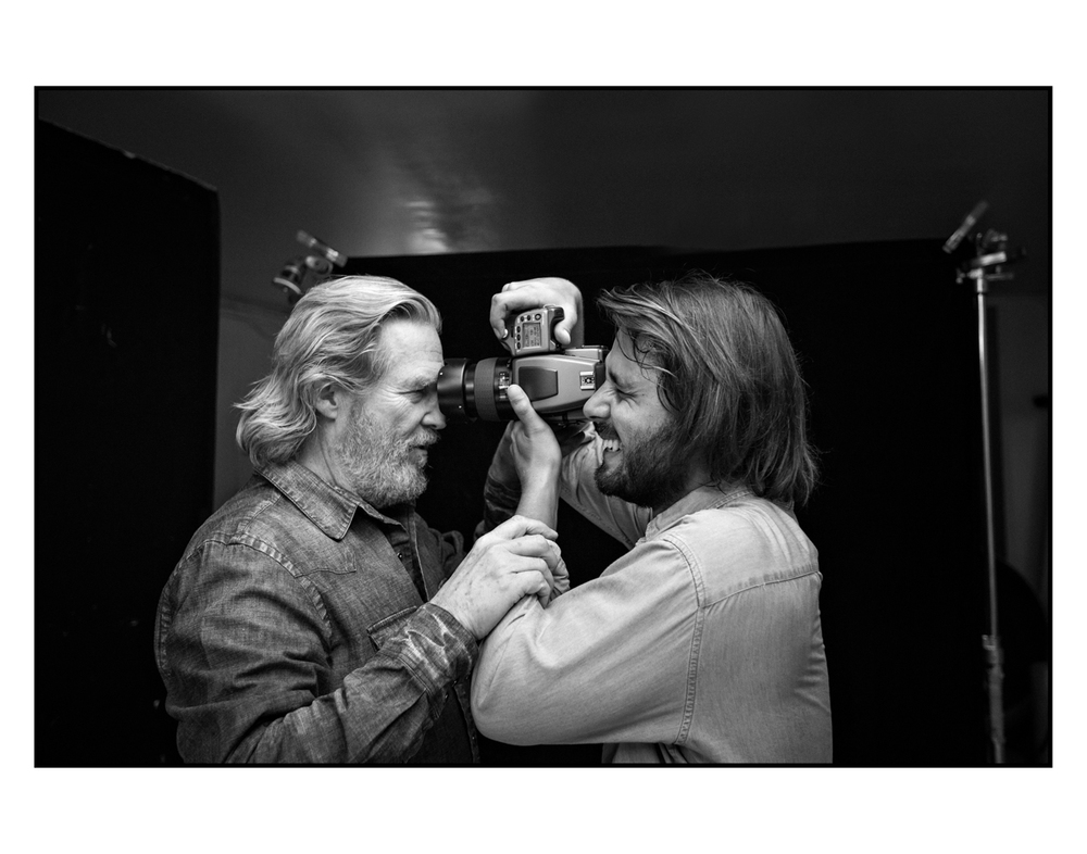 Axel with Jeff Bridges