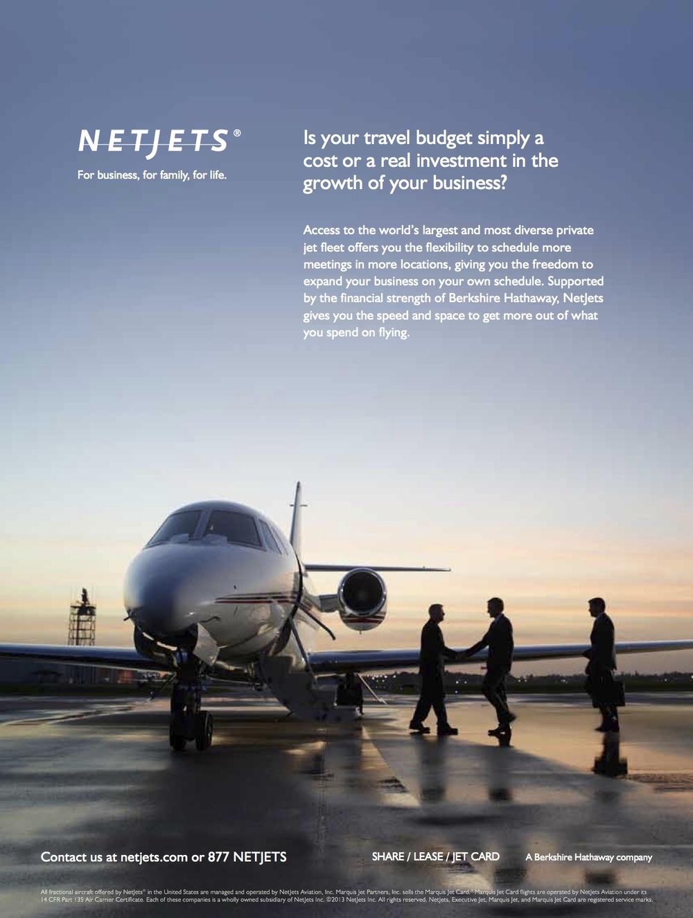 Net Jets Campaign