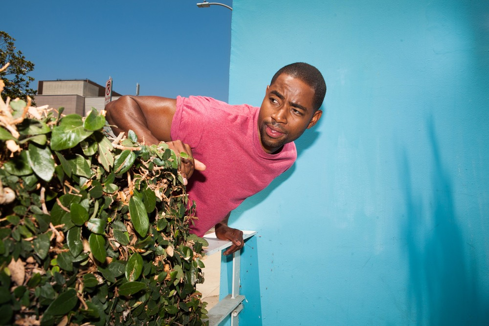 Actor Jay Ellis for  The New York Times