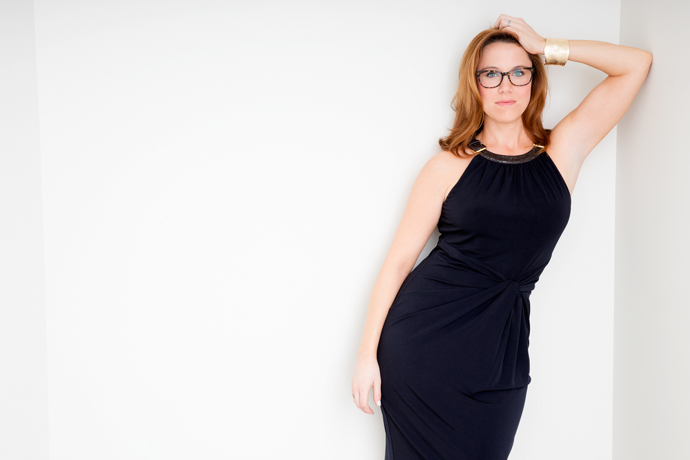 SE Cupp, political pundit. Outtake from a shoot for  NY Moves magazine.