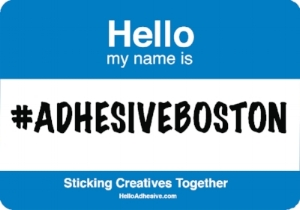#ADHESIVEBOSTON! Come by Thursday, August 31 to help us celebrate end of summer at Bully Boy Distillery!