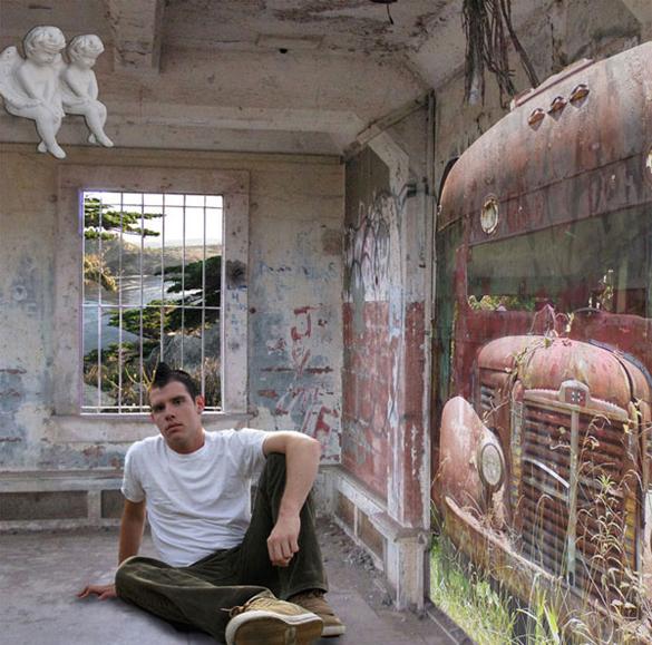 The School boy (after William Blake).  2010