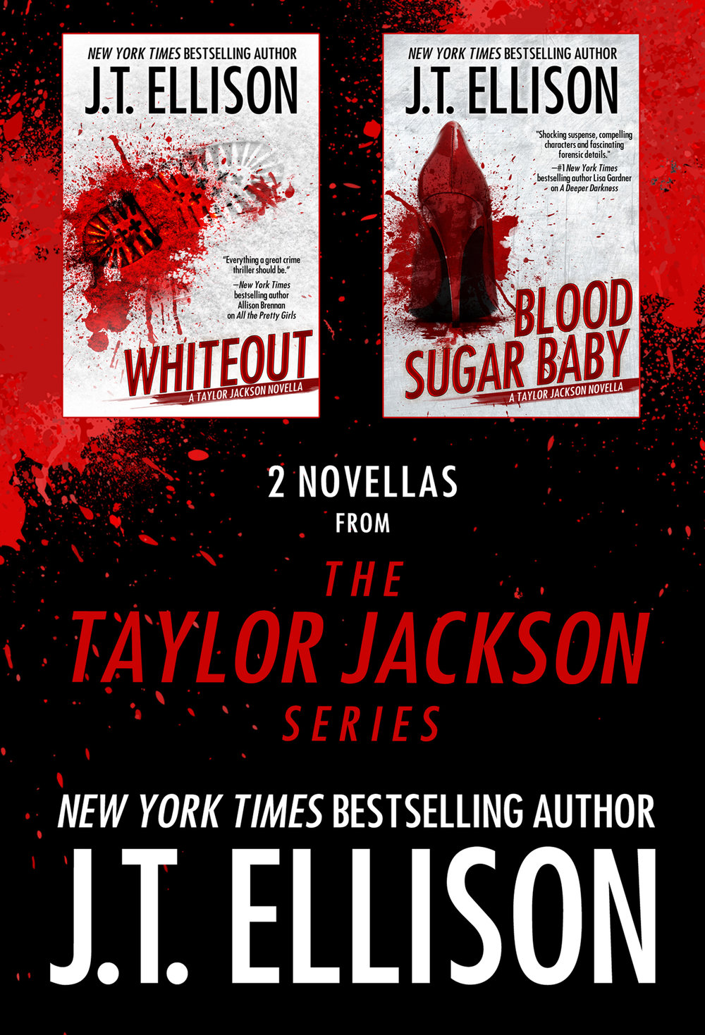2 Novellas from the Taylor Jackson Series