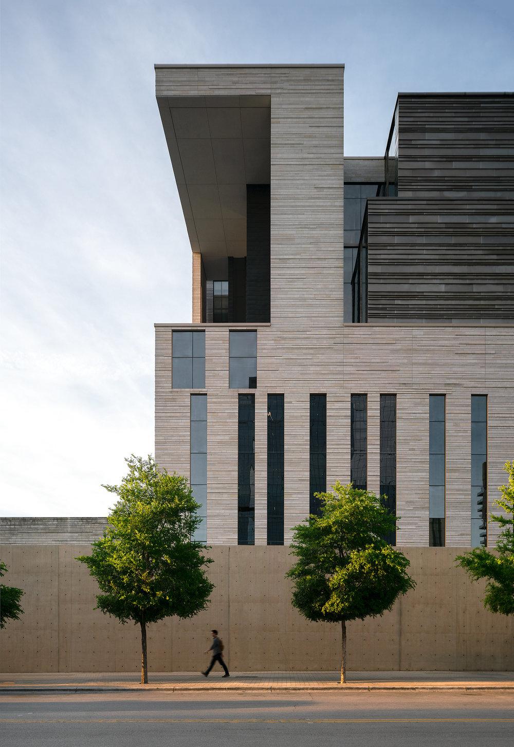 United States Court House, Austin-Mack Scogin Merrill Elam Architects- Austin, TX