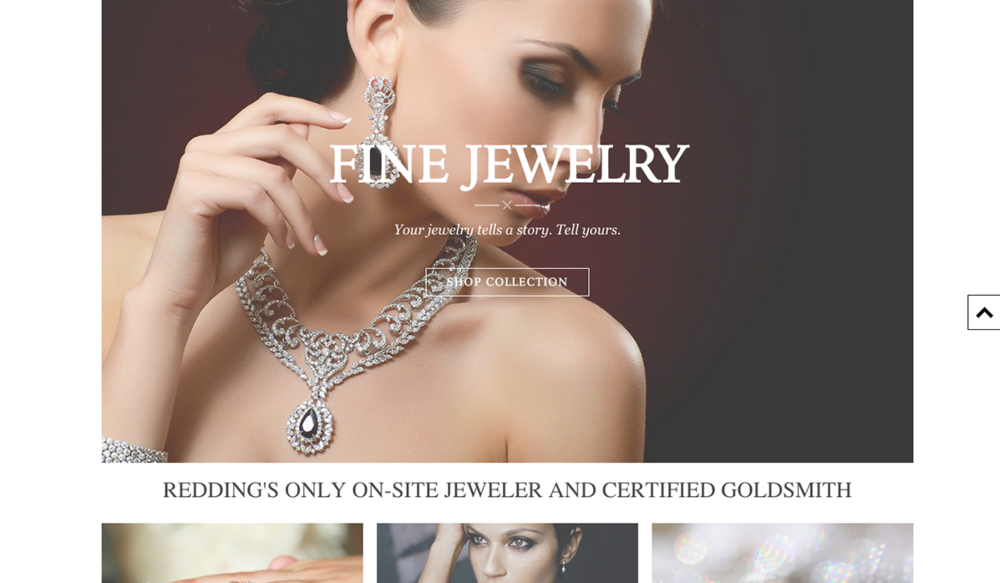 Anderson's Fine Jewelry, Retail & E-Commerce Web Design