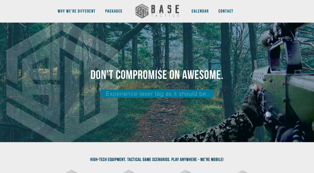 BaseTactics, Sports & Fitness Web Design