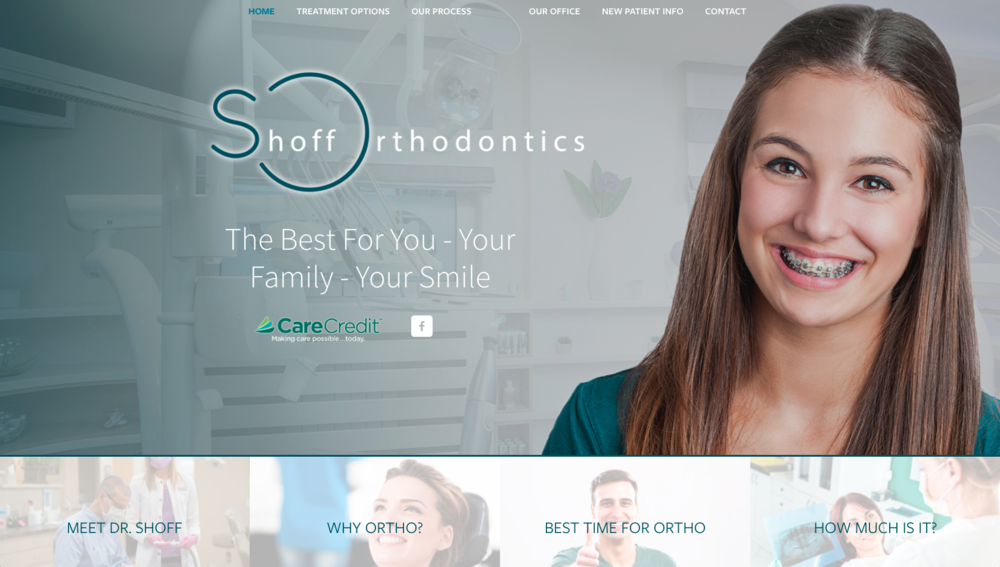 Shoff Orthodontics Website