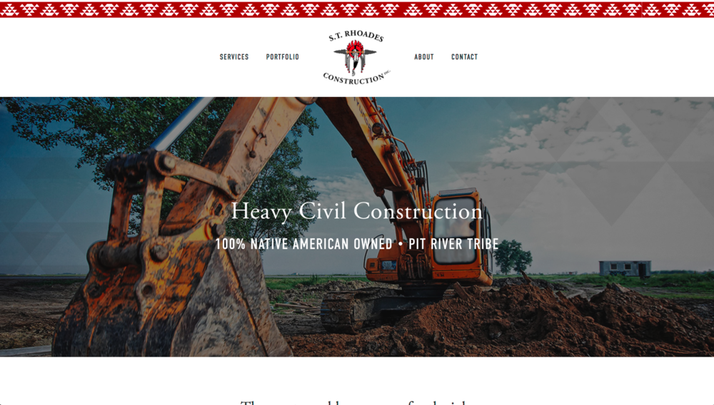 S.T. Rhoades Construction Website