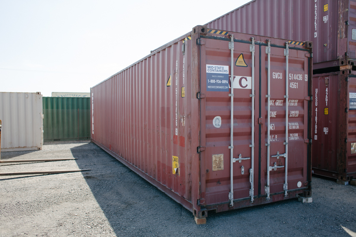 HESPERIA Shipping Storage Containers Midstate Containers
